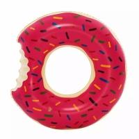 Детский надувной круг Пончик Pink 50 см