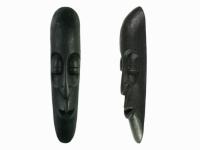 Этническая маска Камадев 25 см черная