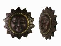 Этническая маска Солнце 19 см