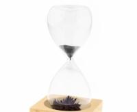 Фото Декоративные стеклянные часы Magnet Hourglass