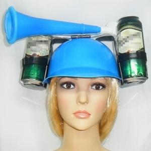 Шлем для пива с дудкой