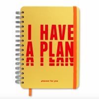Планер I have a plan желтый