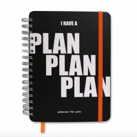 Планер I have a plan plan black
