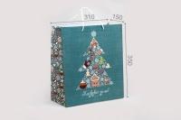 Подарочный пакет Сказочной зимы 31*35*15 см