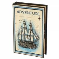 Фото Книги сейф с кодовым замком Adventure 26 см