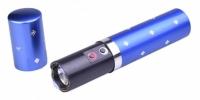 Фонарик электрошокер помада Police BL-1202 blue