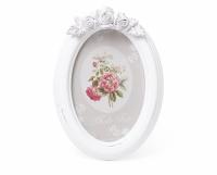 Фоторамка овальная White flowers