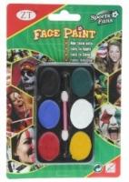 Грим карнавальный Хэллоуин на 6 красок