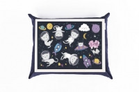 Фото1 Поднос с подушкой Космические Коты