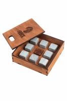 Камни для виски/Whiskey stones THE ROCK 8шт