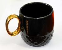 Керамическая чашка Starbucks Black Gold