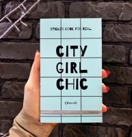 Фото Книга с наклейками Sticker Book City Girl Chic