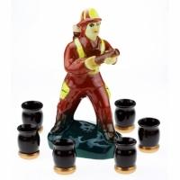 Коньячный набор Пожарник