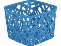 Корзина квадратная Neo blue