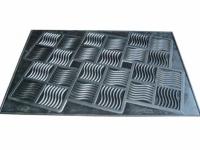 Коврик резиновый Волна 45х65 см