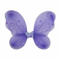 Крылья Бабочки маленькие (сиреневые) 38х29 см