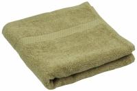 Махровое полотенце кофейное 70х140 см