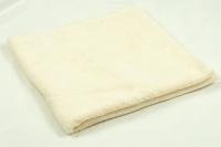 Махровое полотенце молочное 40х70