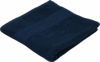 Махровое полотенце синее 70х140 см