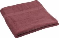 Махровое полотенце сирень 70х140 см