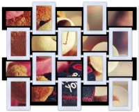 Мультирамка Классика на 20 фото (Черно-Белый)