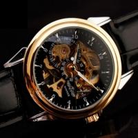 Мужские Скелетон часы Winner Hermes