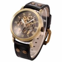 Мужские Скелетон часы Winner Salvador