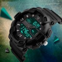 Мужские Спортивные Часы Skmei Black