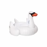 Фото Надувной матрас Лебедь белый 190см