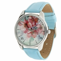 Наручные Часы Цветение Blue