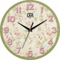Настенные Часы Mini Цветочный Сад
