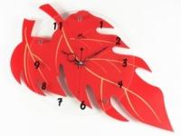 Настенные Часы Осеней Листопад Red