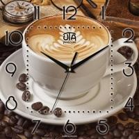 Настенные Часы Panorama Ароматный Капучино
