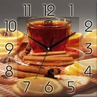Настенные Часы Panorama Чай с Корицей