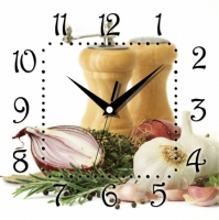 Фото Настенные Часы Panorama Кухонный Набор