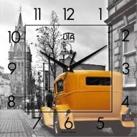 Настенные Часы Panorama Лондон Желтое Такси