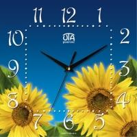 Настенные Часы Panorama Подсолнухи