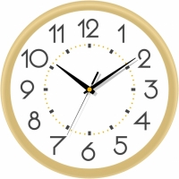 Настенные Часы Сlassic Бежевые