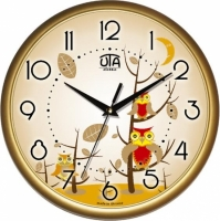 Настенные Часы Сlassic Совята Gold