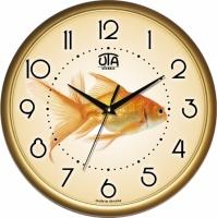 Фото Настенные Часы Сlassic Золотая Рыбка Gold