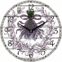 Настенные Часы Vintage Букет Лаванды