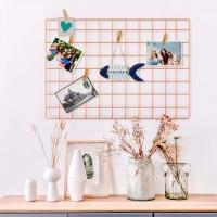 Настенный органайзер Мудборд (moodboard) доска визуализации и планирования, Прямоугольная 45*65 см,