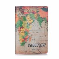 Обложка для паспорта Карта
