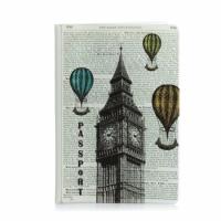 Обложка для паспорта Лондон Париж