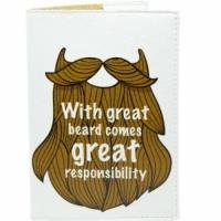 Обложка на паспорт Борода