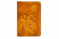 Обложка на паспорт Turtle-X Orange