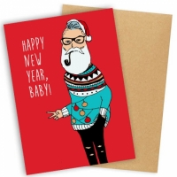 Открытка Happy New Year Baby