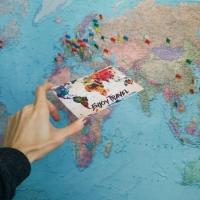 Открытка Карта