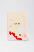 Планер Travel book Sky (персиковый)
