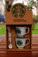 Подарочный набор чашек Starbucks 1987